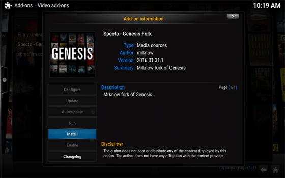 genesis fork 1