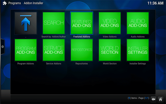 featured addons fusion